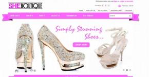 She Boutique website image